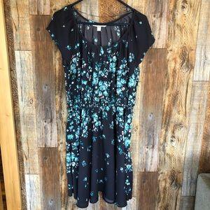 LC Lauren Conrad Middle Cinch Dress. Large.